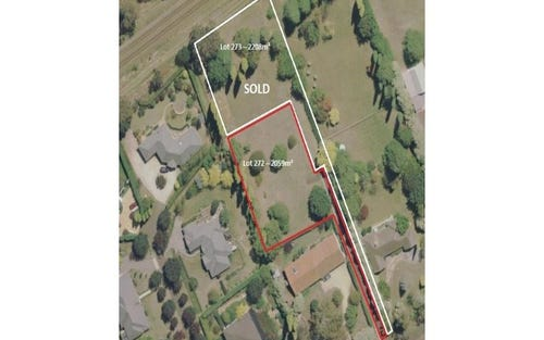 Lot 272 Yean Street, Burradoo NSW 2576