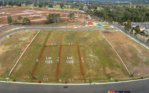 Lots 1325 & 1326 Brookwood Estate, Ropes Crossing NSW 2760