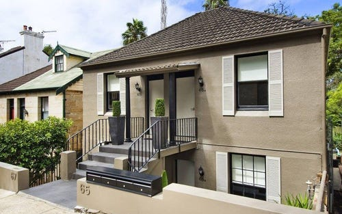 65A BROUGHTON STREET, Kirribilli NSW