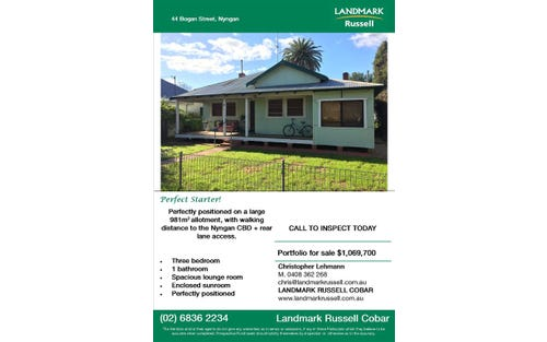 44 Bogan Street, Nyngan NSW 2825