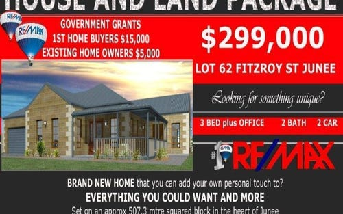 Lot 62 Fitzroy St, Junee NSW 2663