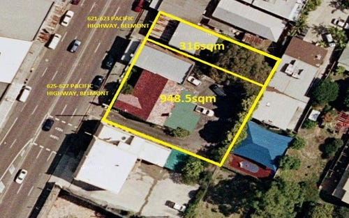 621-627 Pacific Highway, Belmont NSW 2280
