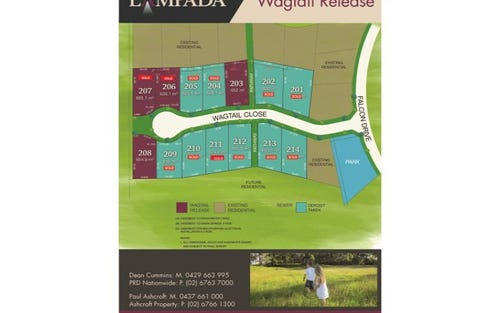 Lot 206 Lampada Estate Wagtail Release, Tamworth NSW 2340