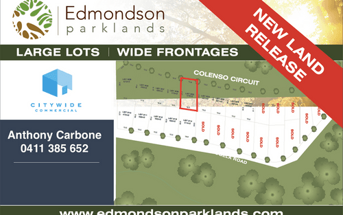 Lot 305 Colenso circuit, Edmondson Park NSW 2174