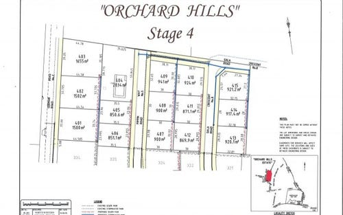 Orchard Hills Estate Stage 4, Orange NSW 2800