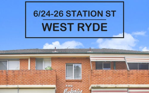 6/24-26 Station Street, West Ryde NSW