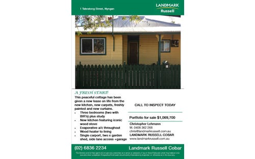 1 Tabratong Street, Nyngan NSW 2825