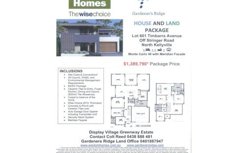 Lot 601 Timbarra Ave, Kellyville NSW 2155