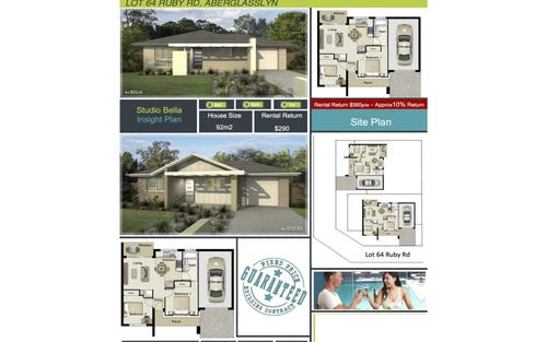 Lot 64 Ruby Road, Aberglasslyn NSW 2320