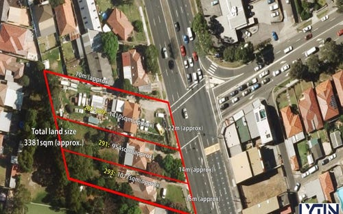 287, 291 & 293 King Georges Rd, Roselands NSW 2196