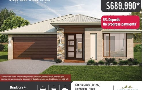 Lot No.: 3309 Northridge Road, Jordan Springs NSW 2747