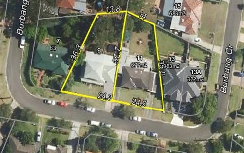 9 and 11 Burbang Crescent, Rydalmere NSW 2116