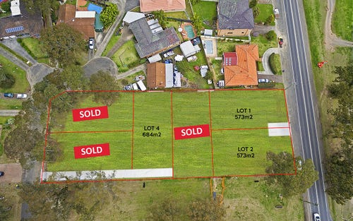Proposed Lots 1-6, 299 Castlereagh Road, Agnes Banks NSW 2753