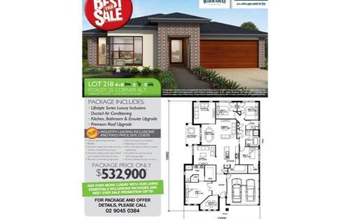 Lot 218 Avondale Drive, Thornton NSW 2322