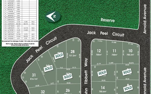 Lots 10 -3 Jack Peel Circuit, Kellyville NSW 2155