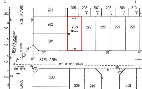 Lot 230 Stellaria Street, Marsden Park NSW 2765