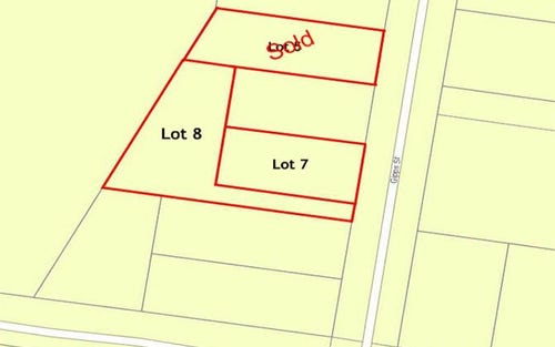Lot 7 & Lot 8 Gipps Street, Wellington NSW 2820