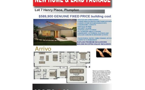 Lot 7 Henry Place, Plumpton NSW 2761