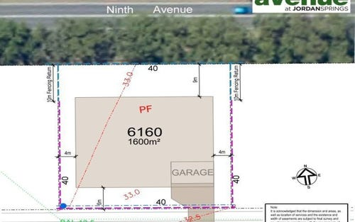 Lot 6160 Ninth Avenue, Jordan Springs NSW 2747
