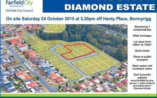 Lot 33, 45 diamond crescent, Bonnyrigg NSW 2177
