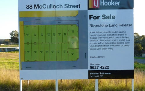 Lot 4 MCCulloch Street, Riverstone NSW 2765