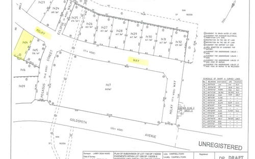 Lot 1414, Milky Way, Campbelltown NSW 2560