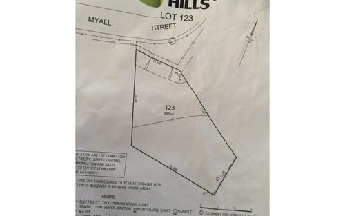 Lot 123, Myall Street, Gregory Hills NSW 2557