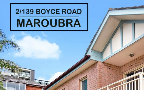 2/139 Boyce Road, Maroubra NSW