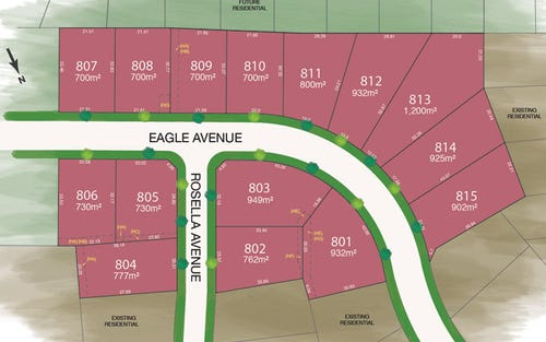 Lot 801-815 Eagle/Rosella Avenue, Tamworth NSW 2340