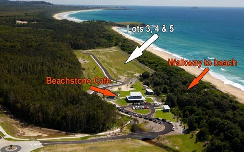 Lots 3, 4 & 5 Beach Way, Sapphire Beach NSW 2450
