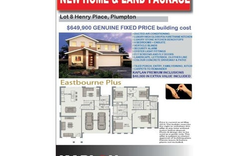 Lot 8 Henry Place, Plumpton NSW 2761