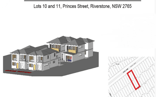 Lot 10 & 11, 10 & 11 Princess Street, Riverstone NSW 2765