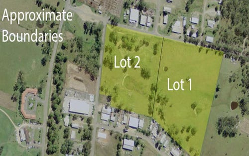 Lots 1 & 2 Cnr Cemetery Road & Tate Street, Gloucester NSW 2422