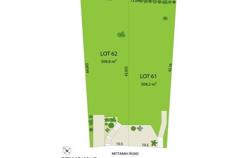 Lot 61 & 62, Asquith NSW 2077