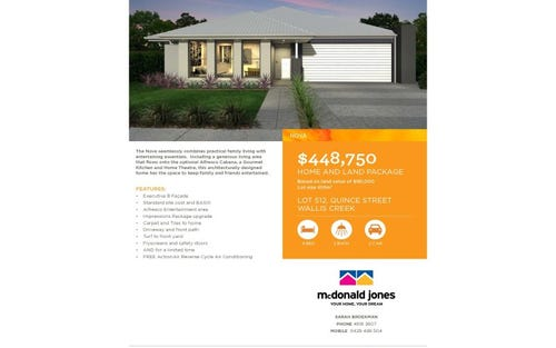 Lot 512, Quince Street, Gillieston Heights NSW 2321