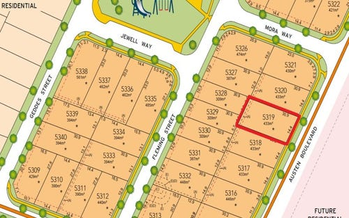 Lot 5319 Austen Boulevard, Spring Farm NSW 2570