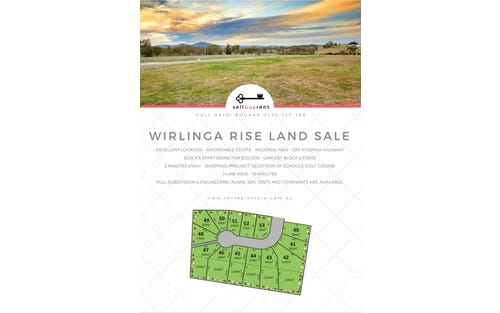 LOTS 40-53 WIRLINGA RISE, Albury NSW 2640