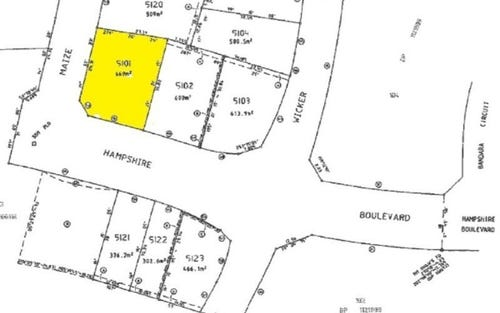 Lot 5101 Hampshire Boulevard, Spring Farm NSW 2570