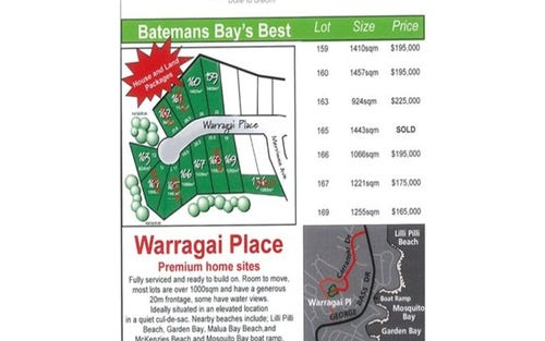 Lots 136,159,160,161,166,167,169 Warragai Place, Lilli Pilli NSW 2536
