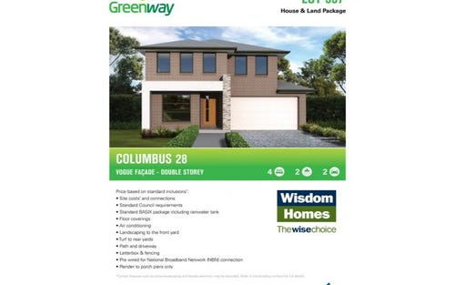Lot 557 Greenway - Marsden Park, Marsden Park NSW 2765