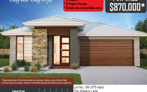 Lot No. 08 The Waters Lane, Rouse Hill NSW 2155
