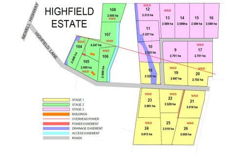 Lot 18-26, 131 Highfield Lane, Narrabri NSW 2390