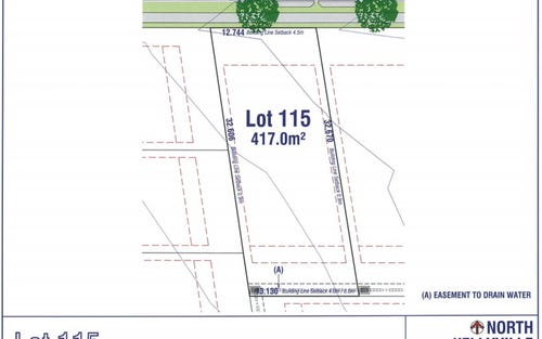 Lot 115, 21-23 Barry Road, Kellyville NSW 2155