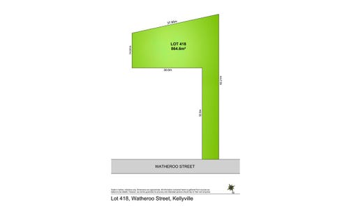 Lot 418 Watheroo Street, Kellyville NSW 2155