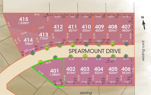Lot 401 Spearmount Drive, Armidale NSW 2350