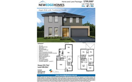 Lot 1730 Proposed Road (Elara), Marsden Park NSW 2765