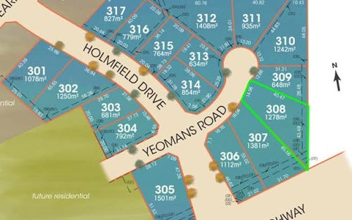 Lot 308 Yeomans Drive, Ben Venue NSW 2350