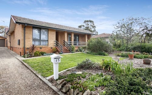 15 Woolrych Street, Holder ACT 2611