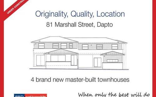 1-4/81 Marshall Street, Dapto NSW 2530