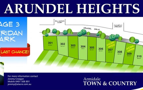 Lot 303 Arundel Heights, Armidale NSW 2350